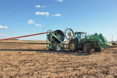 Keeping drag hoses in good condition - Manure Manager