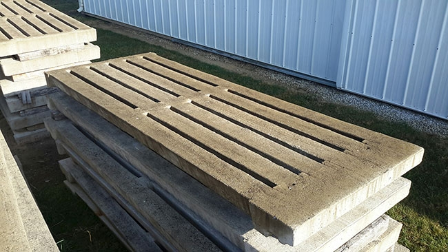 Beef production on slats - Manure Manager
